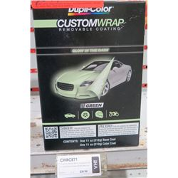 Custom Wrap CWRC871 – Removable Glow in the Dark Green – 2 can set