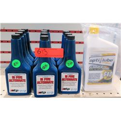 Qty 11 ATP M Five Alternative Auto Transmission Fluid & Opti-Lube Additive