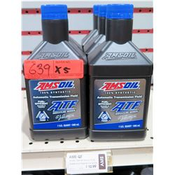 Qty 5 Quarts AMSoil Synthetic ATF Automatic Transmission Fluid