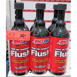 Qty 6 Bottles AMSoil Engine & Transmission Flush
