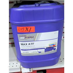 Qty 1 5-Gallon Pail Royal Purple Max ATF Automatic Transmission Fluid - $273/retail