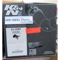 K&N 63-3089 Performance Air Intake Kit (15-20 Colorado/Canyon 10HP gain) $258/retail