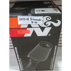 K&N 63-3085 Performance Air Intake Kit 14-18 4.3L Sierra/Silverado - $283/retail