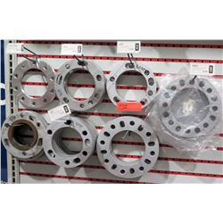 """Multiple 1/2"""" and 1/4"""" 5 & 6 lug Wheel Spacers SP604, 602T, 603T, 1609 – over $180"""