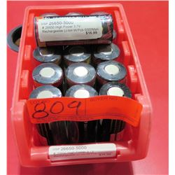 Bin Multiple OSP 26650-5000 High Power 3.7V Rechargeable Li-Ion Batteries