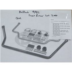 Belltech 9911 Front & Rear Anti Swaybar Kit 94-99 Tahoe/Yukon 4dr - $450/retail