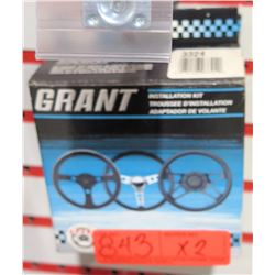 Qty 2 Grant 3324 Standard Steering Wheel Installation Kit-Chrysler/Dodge