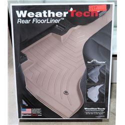 Weather Tech 452862 Rear Floor Liner 10-17 Lexus, Land Cruiser