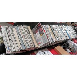Auto Part Catalog Rack w/ Multiple Misc Vintage Parts Books