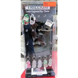 Misc Keychains – Slipper Lighters, LED Caribiner w/ Acrylic spinning display case