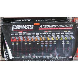 """Qty 4 Flowmaster Exhaust Technology """"A Sound Choice"""" Banner"""