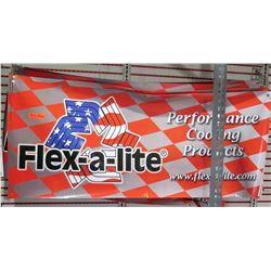 Qty 6 Flex-a-lite Performance Cooling Products Logo Banner