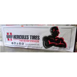 Hercules Tires Ride On Our Strength Logo Banner