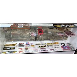 Multiple Misc Stickers Decals - Mickey Thompson, RPC, Flowmaster, etc