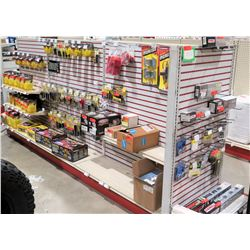 "Display Shelf ONLY - Adjustable Pegboard w/ Metal Shelves 60"" x 144"""