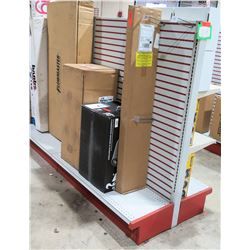 "Display Shelf ONLY - Adjustable Pegboard w/ Metal Shelves 60"" x 8'"