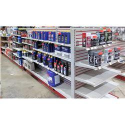 "Display Shelf ONLY - Adjustable Pegboard w/ Metal Shelves 60"" x 288"""