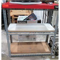 "Metal Warehouse Adjustable Shelf  38"" x 28"" x 48"""