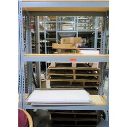 "Metal Warehouse Adjustable Shelf 48"" x 18"" x 84"""
