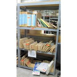 """Metal Warehouse Adjustable Shelf 48"""" x 18"""" x 84"""" w/ Multiple Fel-Pro Gaskets"""