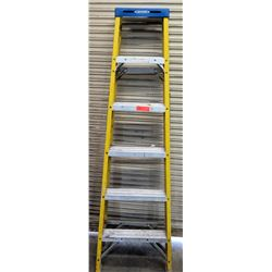 Werner Yellow & Aluminum Multi-Purpose Shop Step Ladder