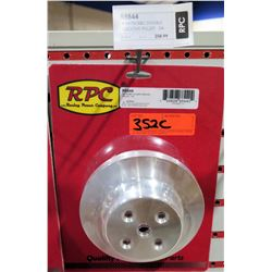 RPC R8844 Satin BBC Double Groover Pulley