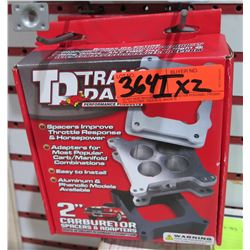 Qty 2 TD Trans Dapt 2107 Carb Adaptor