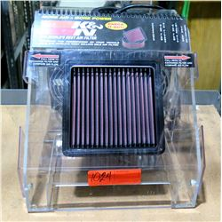 KNN Air Filter Test Display