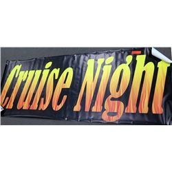 """""""Cruise Night"""" Banner"""