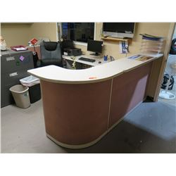 Modular Desk System w/ Curving Counter
