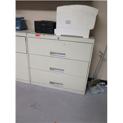 Lateral Metal Filing Cabinet w/ Key