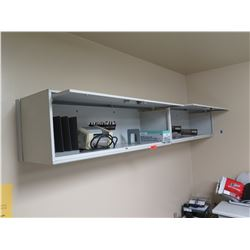 2-Compartment Wall-Mount Metal Cabinets