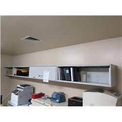 4-Compartment Wall-Mount Metal Cabinets