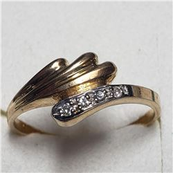 10K Yellow Gold Diamond Ring, Suggested Retail Value $1500 (Estimated Selling Price from $210 to $42
