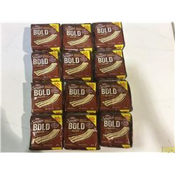 Kraft Singles Bold Thick Cut Bacon Process Cheese Slices (12 x 336g)