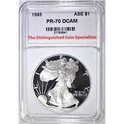 1993  ASE, TDCS PERFECT GEM PROOF DCAM
