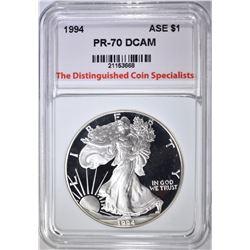 1994  ASE, TDCS PERFECT GEM PROOF DCAM