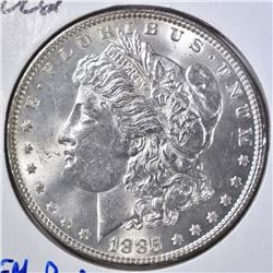 1885 MORGAN DOLLAR  GEM BU