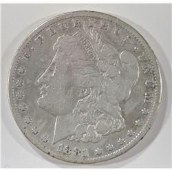 1881-CC MORGAN DOLLAR FINE
