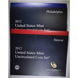 2012 U.S. MINT UNC SET ORIG PACKAGING