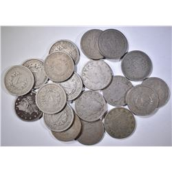 GROUP OF LIBERTY NICKELS AS FOLLOWS: