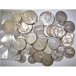 $11.75 FACE VALUE 90% SILVER MIXED COINS