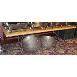 ONE LARGE FOLDING WOOD TABLE