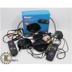 TWO ROKU1 - 1400+ STREAMING CHANNELS,