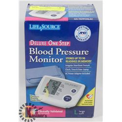 LIFE SOURCE DELUXE ONE STEP BLOOD PRESSURE