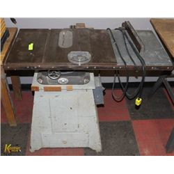 """DEAVER POWER TOOLS 7"""" TABLE SAW."""