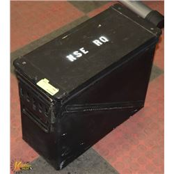 LARGE BLACK AMMO CONTAINER