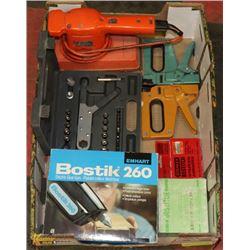 ESTATE FLAT OF TOOLS INCLUDING BOSTIK ELECTRIC