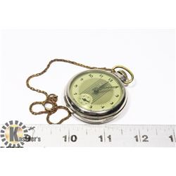 1938 WESTCLOX -DAX- MADE IN CANADA POCKET WATCH W/