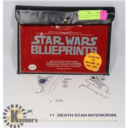 SET OF 15 STAR WARS BLUEPRINTS CELEBRATING THE